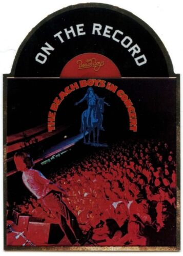 The Beach Boys In Concert 1973 #9 The Beach Boys On the Record 2013 Card C1556