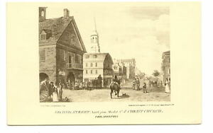 PHILADELPHIA-PA-2nd-Street-Fm-Market-Christ-Church-Vtg