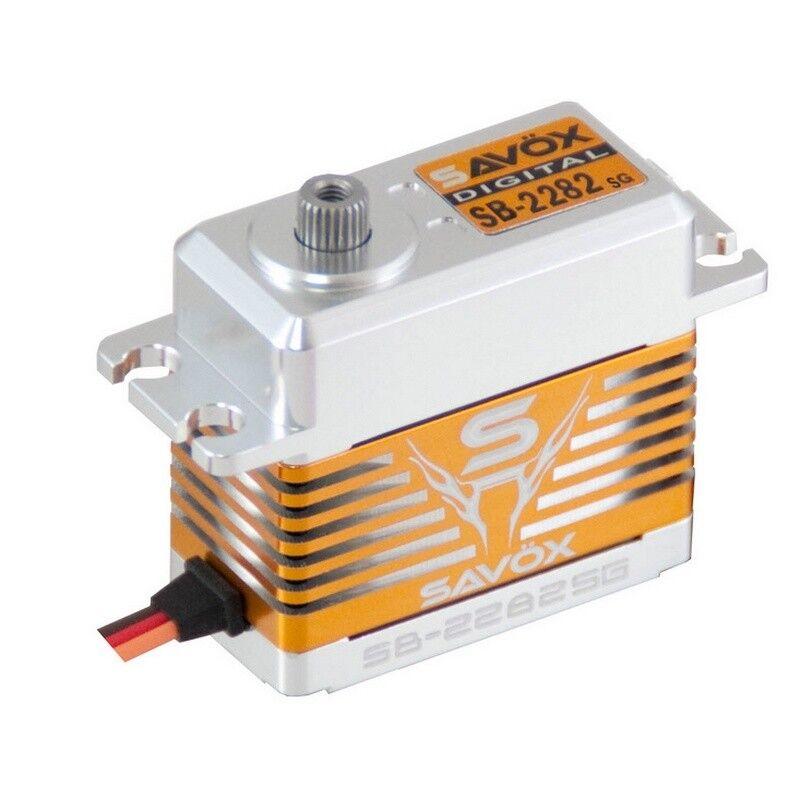Savox SB-2282SG High Voltage Brushless Digital Servo 0.075 319.4 @7.4v