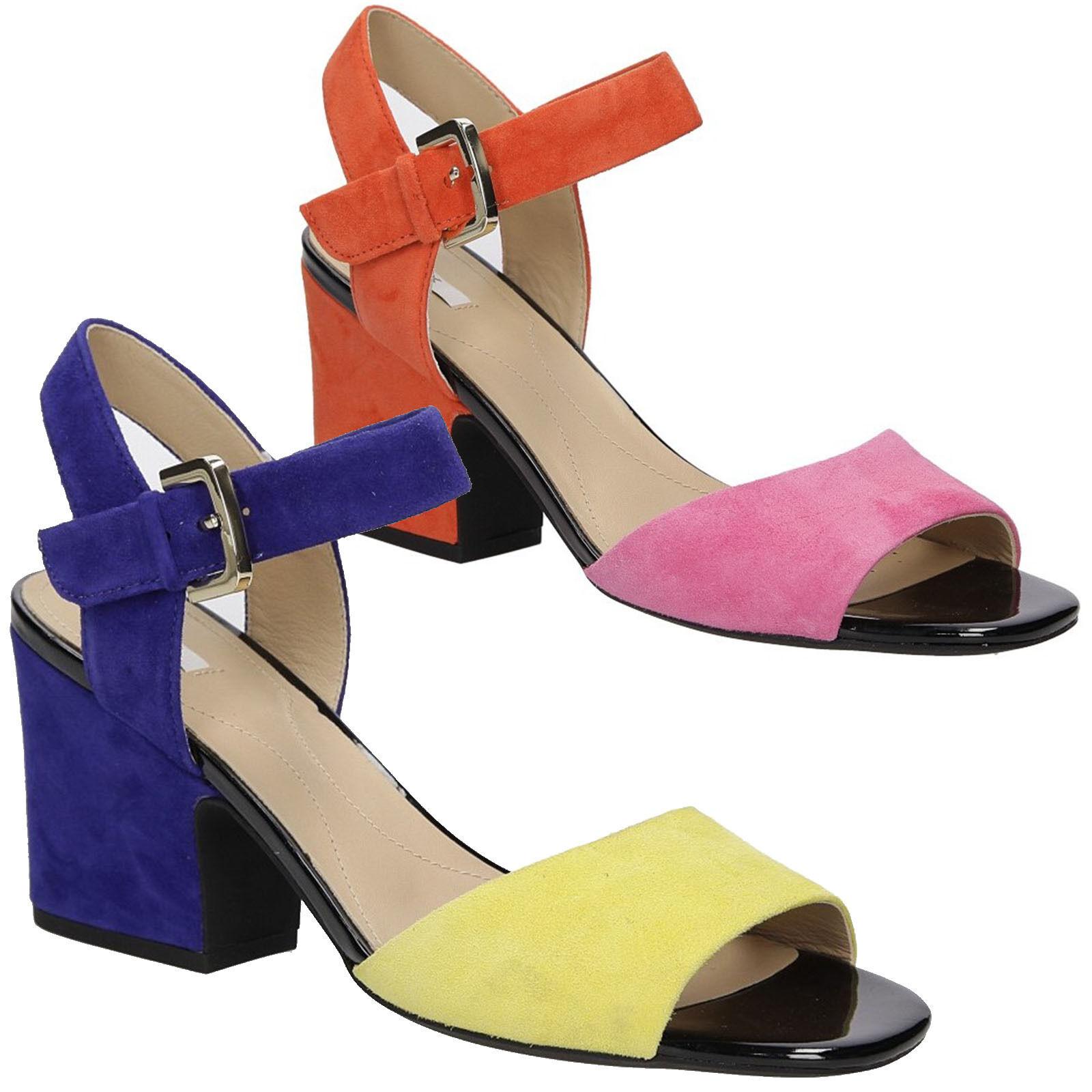 Damen Sandalen GEOX D724UB 00021 Sandaletten Elegant Modisch Gr. 35-39 SALE