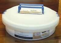 Main Stays Food Keeper / Carrier Dish Washer Safe Container + Tray For 18 Eggs