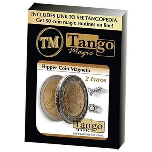 Flipper  Coin Magnetic 2 Euro by Tango - Magia con monete  prezzi bassi di tutti i giorni