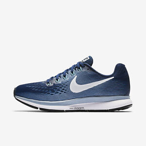 Wmns Nike Air Zoom Pegasus 34 Sz 5-10 Blue/White/Grey 880560-402 FREE SHIPPING