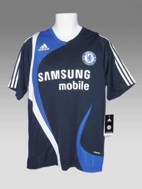 adidas Chelsea FC Training Jersey Shirt 2007/2008 Mens Blue Large ...