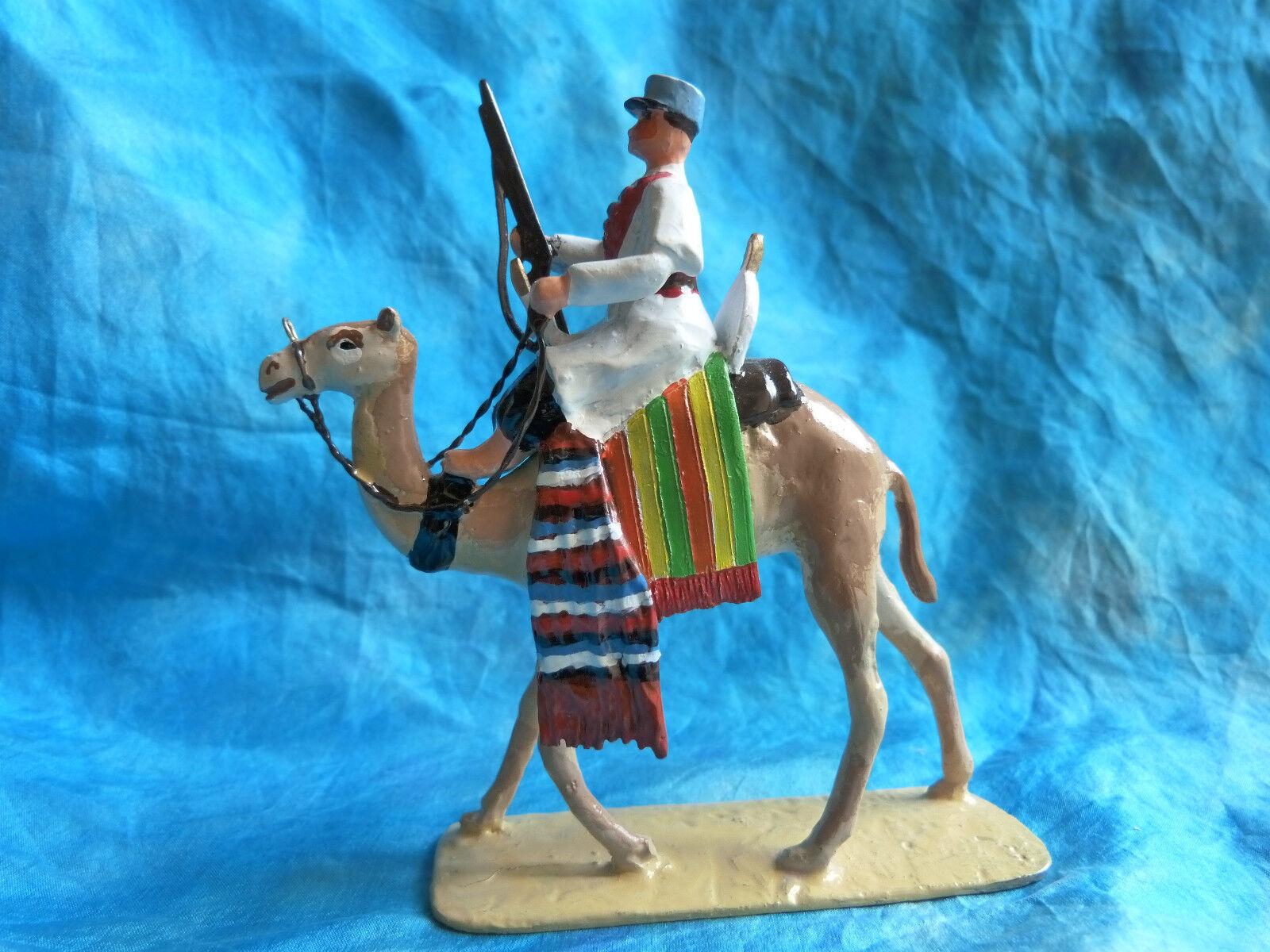 Soldat de plomb Guy Jouglet - Méhariste n  5  camel corps  - armées coloniales