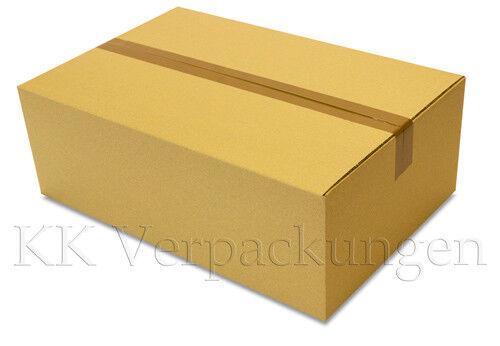 120  Faltkarton 590 x 390 x 200 = ¼ Euro-Palette Stabile Versand Kartons 2.30 BE