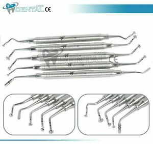 5-Pcs-Mushroom-Sinus-Lift-Elevatorien-Set-Kit-Implant-Dental-Dentistry-CE