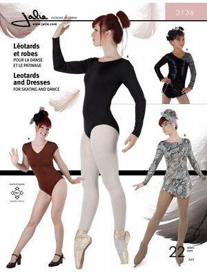 Free UK P/&P Jalie Ladies /& Girls Easy Sewing Pattern 2919 Pleated C...