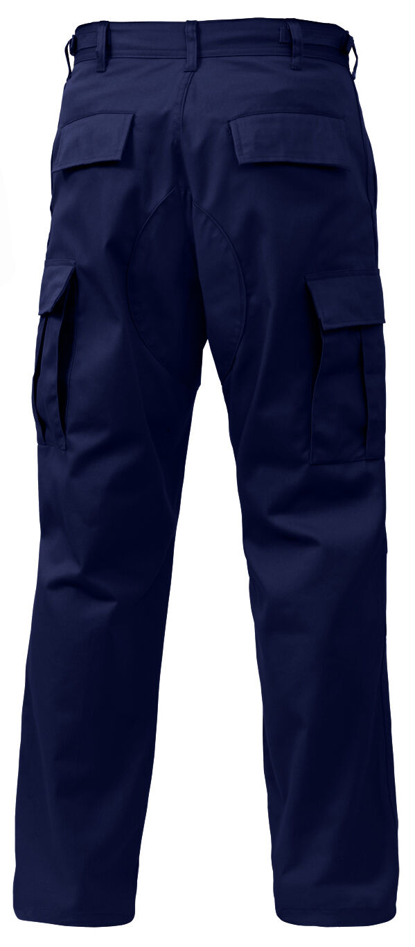 Cargo pants military bdu style navy bluee various sizes and lengths redhco 7885