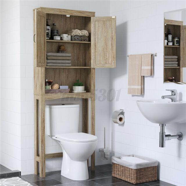Toilet Cabinet Bath Storage Shelf