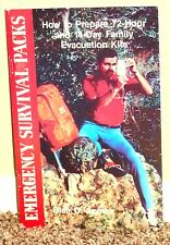 HOW TO PREPARE 72 HOUR & 14 DAY FAMILY EVACUATION KITS 1999 LDS MORMON PB RARE