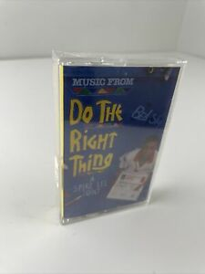 DO THE RIGHT THING movie Soundtrack Spike Lee Cassette Tape Hip Hop Rap RARE R&B