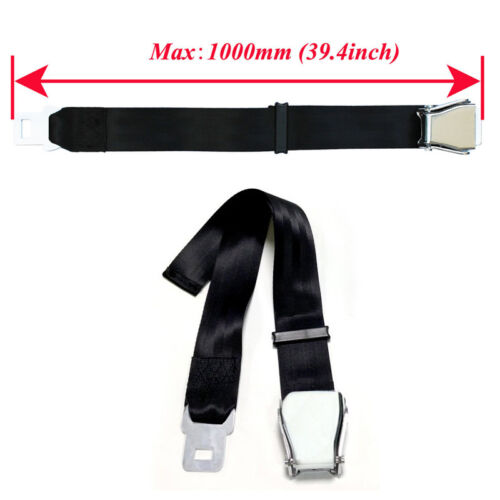 UK Adjustable Airplane Seat Belt Extender Extension Airline/Buckle Aircraft Ship