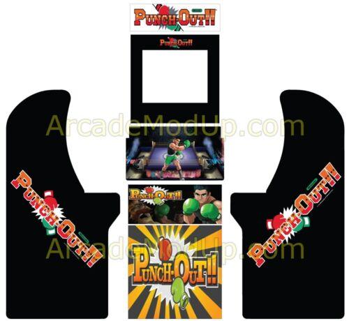 Full wrap  High quality print /&laminate Arcade1Up Arcade Cabinet Graphics Wrap