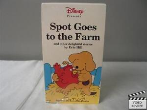 Spot Spot Goes To The Farm Vhs Walt Disney Home Video 717951772039 Ebay