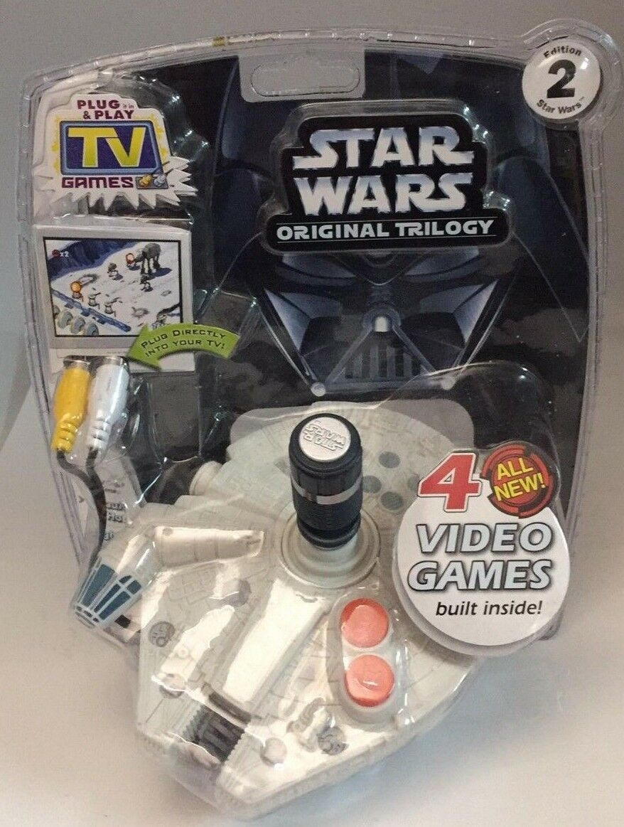 Star Wars Original Trilogy TV Game  4 All New Video Game - Brand New