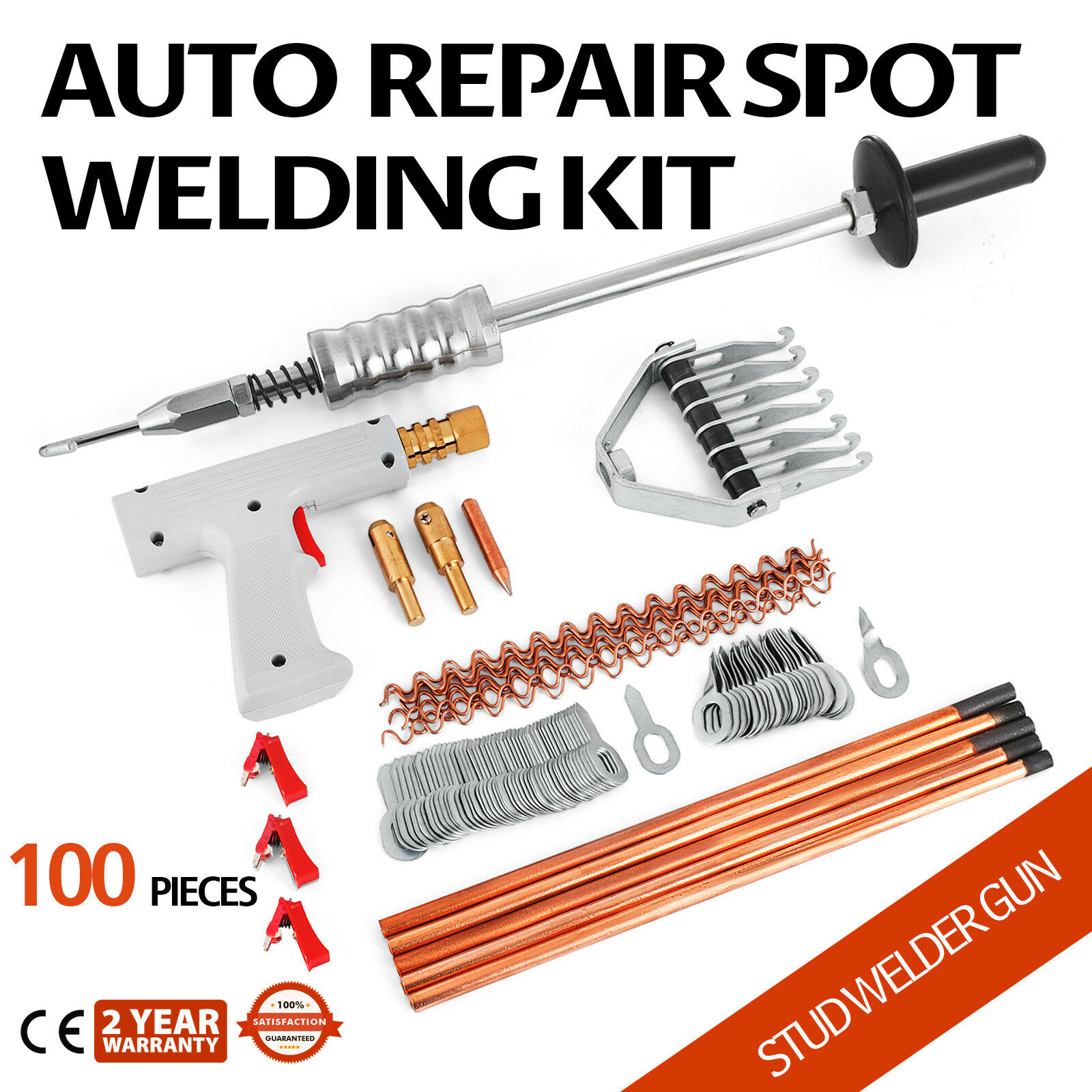 Repair Panels Spot Welding Kit Stud Welder Gun Car Spotter Puller Machine Diagram Dent Removal Ebay