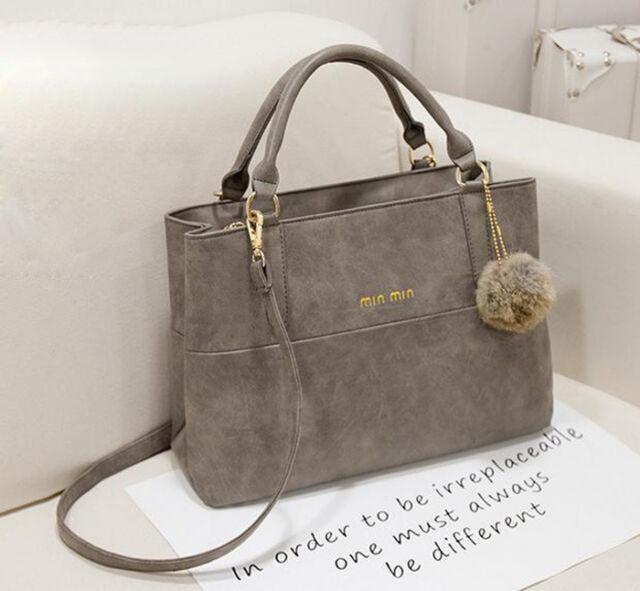 Femmes Scrub Sac Porté épaule Handbag bandoulière Satchel Sac à main Messenger