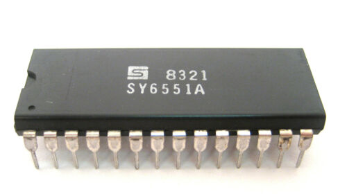 28-Pin IC Great Price Very Rare Device Synertek  SY6551A NOS