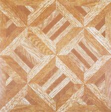 100 Vinyl Floor Tile Self Adhesive WOODEN PARQUET DIAMONDS Area sqm 9.6 Unit 100