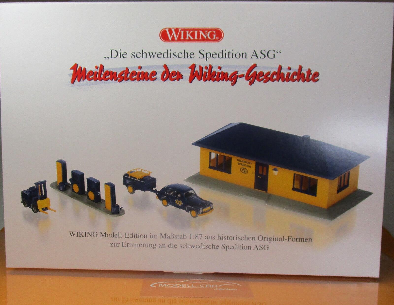 WIKING 099094 Set ASG 1 87 NEU OVP