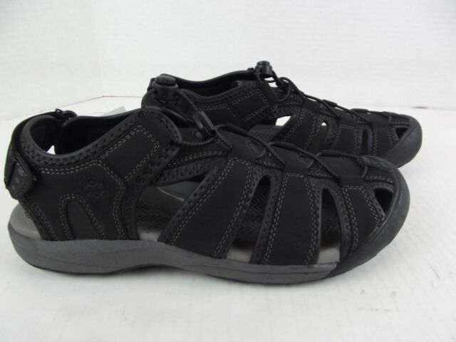 d49b45f1e041 KHOMBU Sandals Active Quick Dry Adjustable Fit Travis Black Men s Sz 9-12  NIB