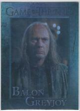 Season 3 Three 2014 Game of Thrones BALON GREYJOY #61 Foil Parallel