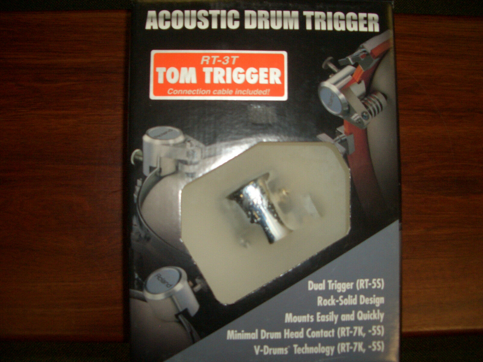 Sito ufficiale Roland rt-3t Tom Tom Trigger       NOS NEW OLD STOCK   assembled in Usa   Ovp  consegna lampo