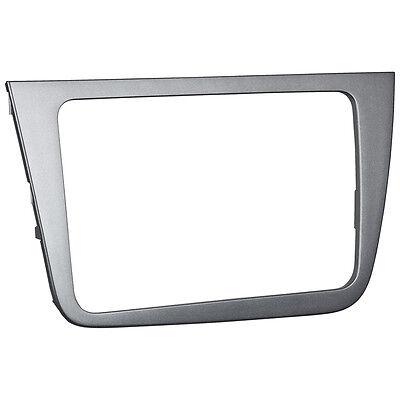 Radioblende Seat Leon 1P ab 05 Doppel DIN anthrazit Rahmen BLENDE 2-DIN