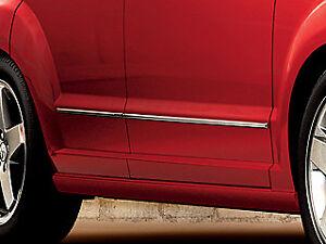 Dodge Caliber Chrome Door Molding Trim