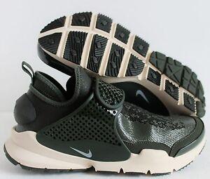 Nike x Stone Island Sock Dart SP QS Mid Sequoia Green sz 11  910090 ... 9a6e9b03cc