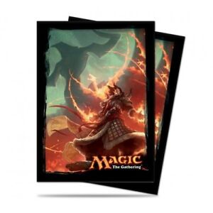 Ultra-Pro-Magic-Gathering-MTG-Fate-Reforged-Sarkhan-CARD-PROTECTOR-SLEEVES-80ct