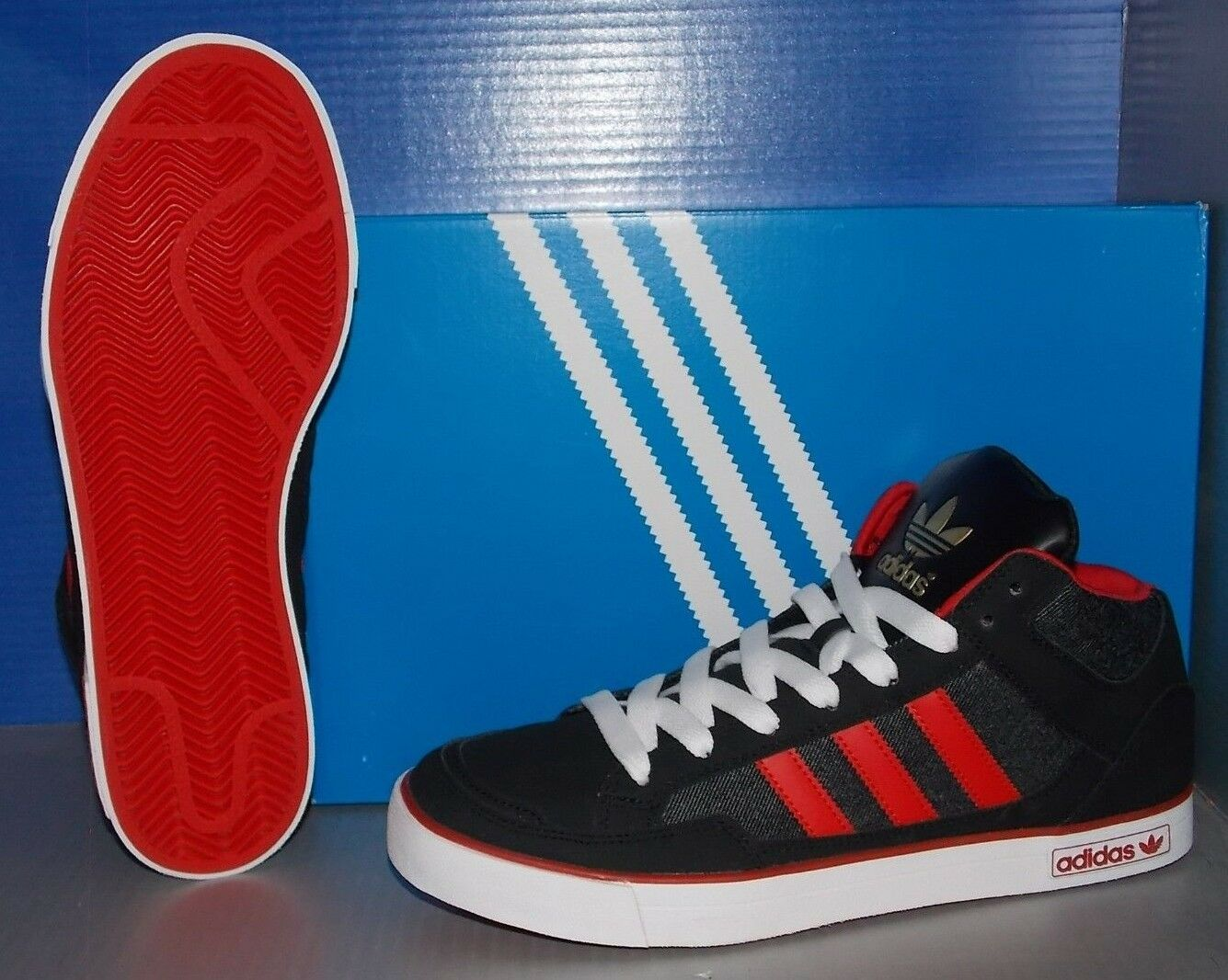 adidas adidas adidas vc 1000 en couleurs noir / lumière rouge / blanc taille 11,5 | économique Et Pratique  29fc44