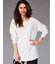 Ivory-Dolman-Sleeve-Oversized-Longline-Fine-Knit-Tunic-Style-Embellished-Jumper thumbnail 3
