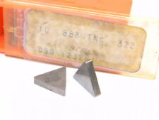TNG 432 F 883 TNGN CARBOLOY SECO INSERTS