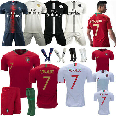 Boys' Clothing 2-16 Years Kids' Clothes, Shoes & Accessories 19/20 Football  Kits Youth Soccer Jersey Strips Kids 3-13Y Soccer Training Outfit