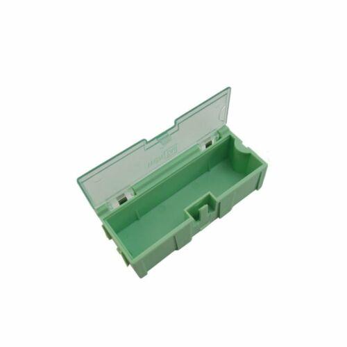10pcs Anti-static SMT SMD Kit Lab chip Components Screw Storage Box Case C++