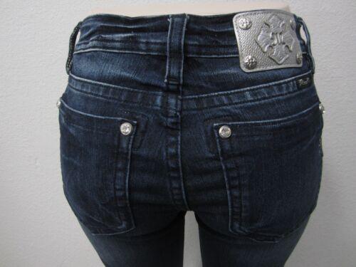 Cute cristaux 28x32 Boot haute mi Jeans Nwt Me et Garniture Miss Mp7249b2v Perles coupe Ovxqg4q
