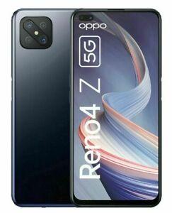 OPPO Reno4 Z 5G 8GB 128GB Ink Black Schwarz Ohne Simlock Dual Sim NEU + OVP