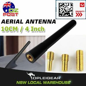 10cm-4-Inch-Booster-Mast-Stubby-Car-AM-FM-Radio-Signal-Antenna-Roof-Black-Aerial