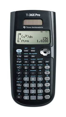 Texas Instruments TI-36X Pro Scientific Solar Powered Calcul