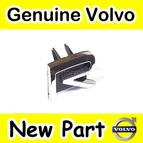 GENUINE VOLVO R FRONT GRILLE BADGE / EMBLEM