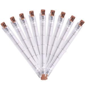 10PCS-240V-500W-J-Type-Linear-Halogen-Light-Bulb-Lamp-R7S-T3-118mm-Double-End