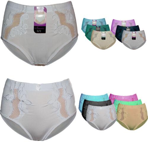 6 Stück Damen Slips Hipster Spitze Slip Unterwäsche Pants Unterhose Neu