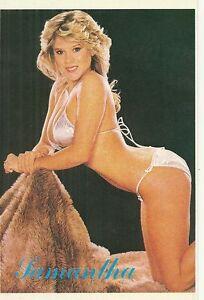 rare postcard postcard samantha fox sexy nine new ebay