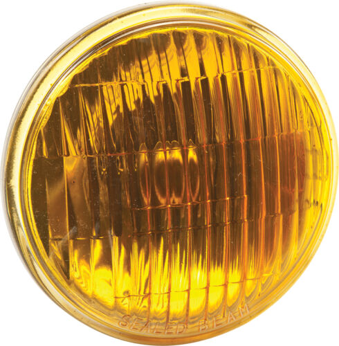 "CANDLEPOWER 4 1//2/"" M//C PASSING LAMP AMBER SEALED BEAM 12V 30W"