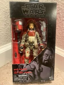 "STAR WARS BASE MALBUS ACTION FIGURE 6/"" FIGURE #37 THE BLACK SERIES"