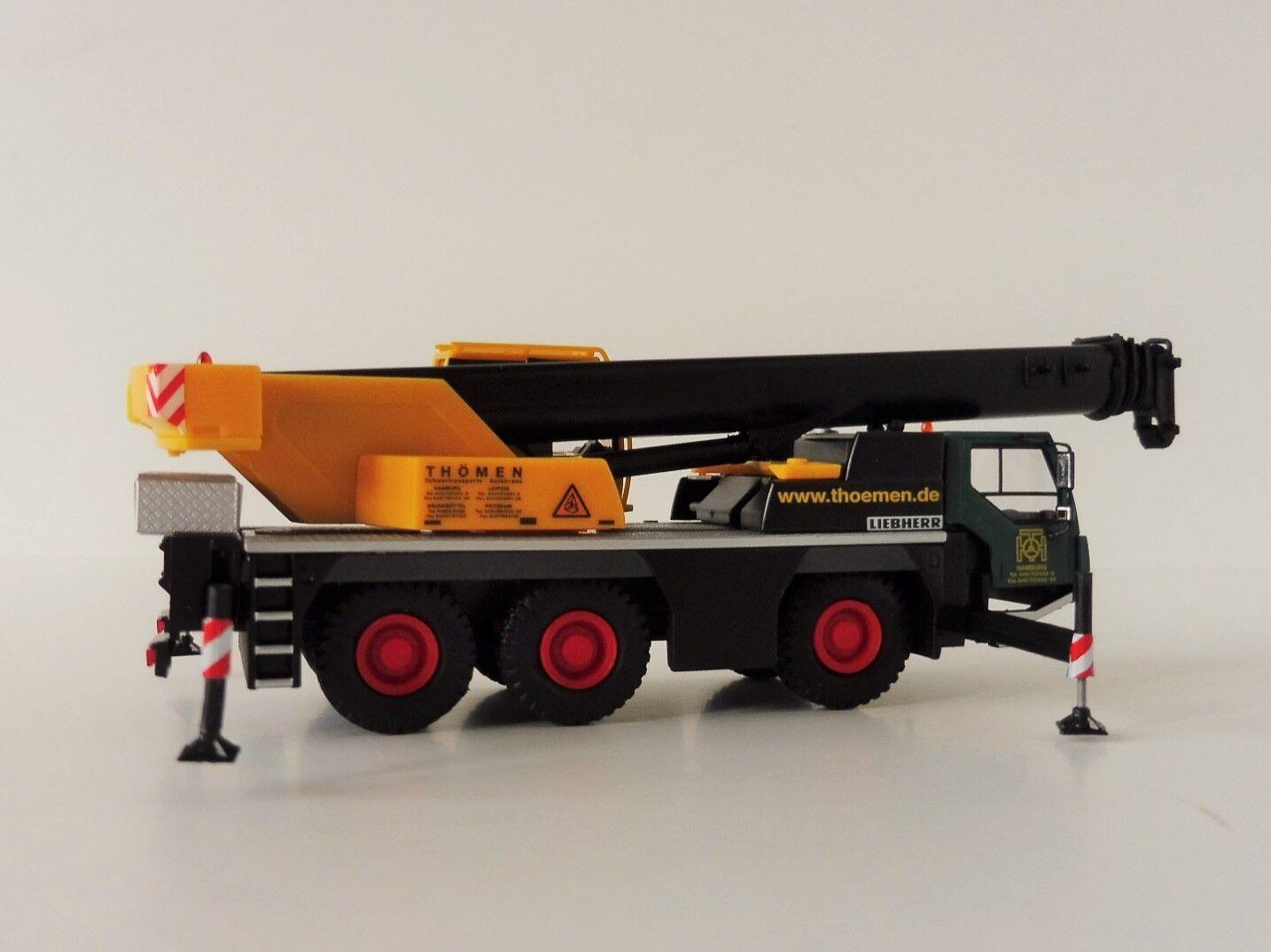 Liebherr LTM 1045 1 1 1 Mobilkran Thömen 1 87 HERPA 308632 1045 Hamburg 228499