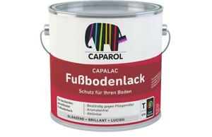 Fußboden Lack ~ Caparol capalac fußbodenlack l hoch abriebfest gut deckend