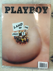 PLAYBOY-Magazine-LAND-OF-FREE-Winter-2019-New-Factory-Sealed-RARE-Out-Of-Print